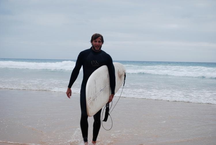 surfing Lagos