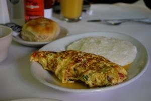 jambalaya omelet
