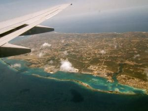 Flight to Aruba