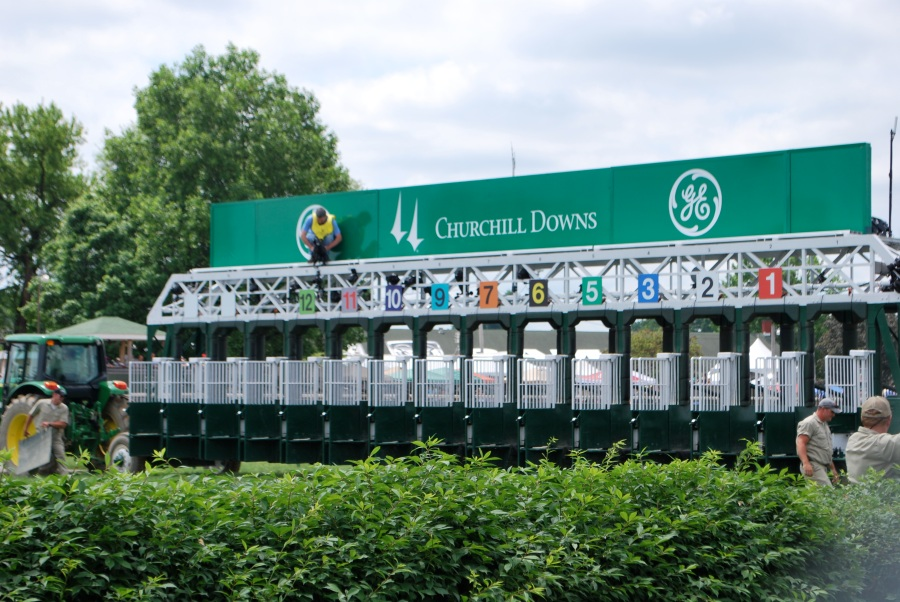 Churchill Downs gates