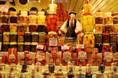 Central Market Budapest Hungary