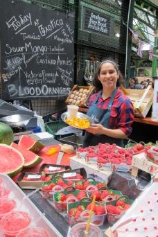 Borough Market, London England