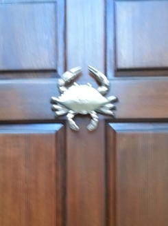 door knocker crab