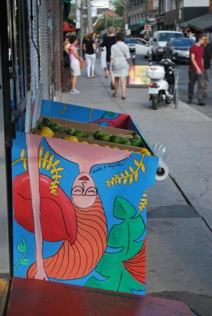 Fun street art Toronto