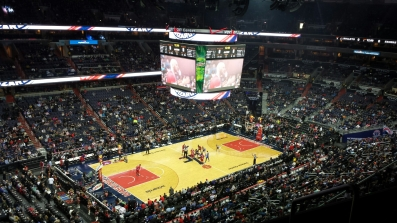 Wizards vs 76ers, Verizon Center, DC