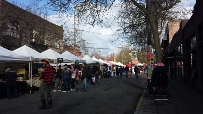Ballard Farmers Market, Old Ballard, Seattle