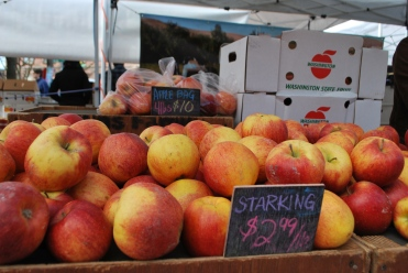 Washington State Apples, Ballard Farmers Market, Seattle